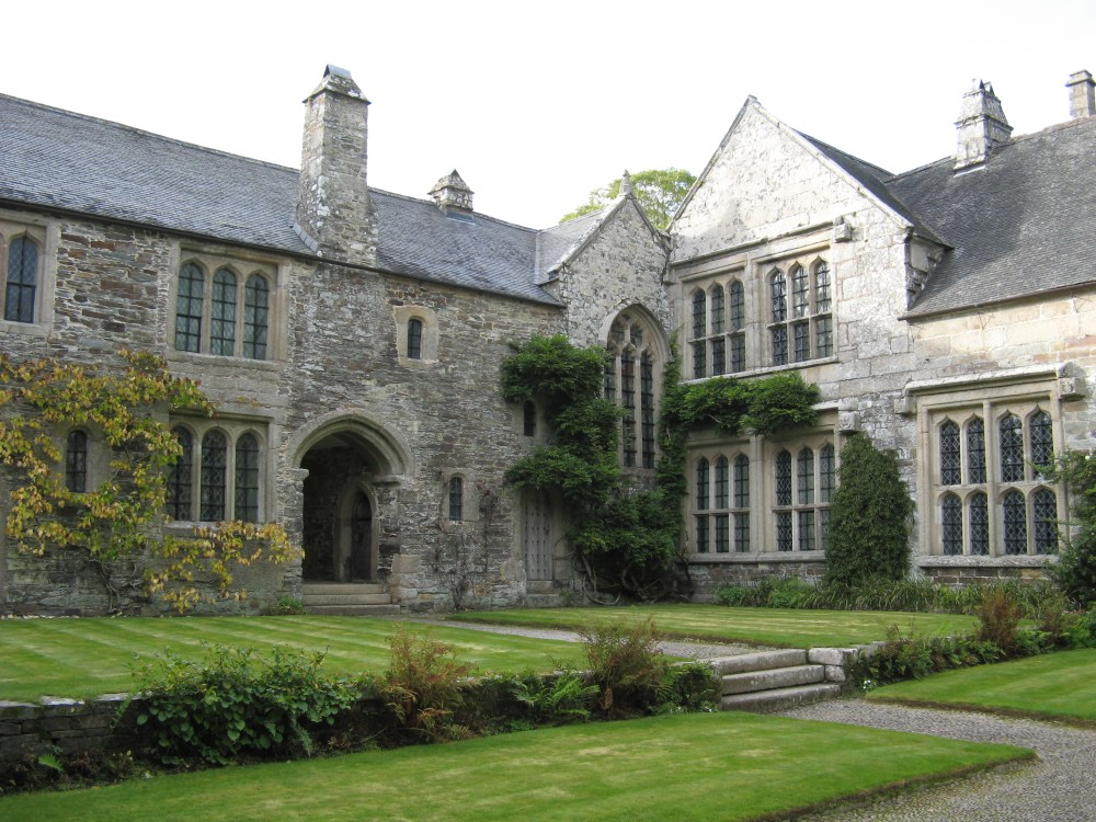 Cotehele,_house_from_courtyard