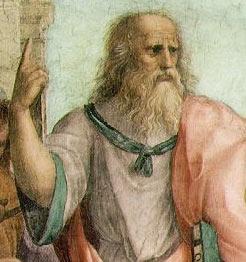 Plato by Raphael