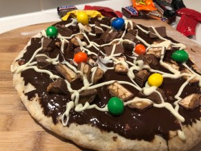 Halloween Candy Pizza Recipe