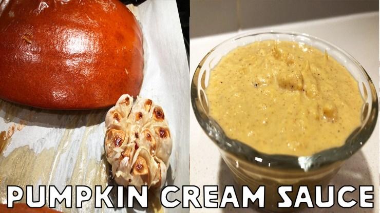 Pumpkin Cream Sauce