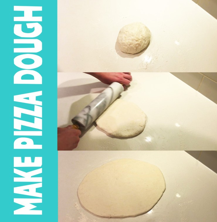 make pizza dough