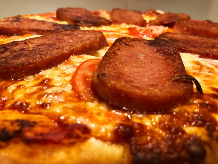 Spam Pizza