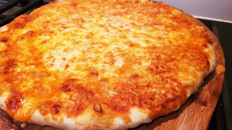 Alphagetti Pizza