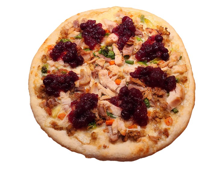 Thanksgiving Turkey Pizza Recipe