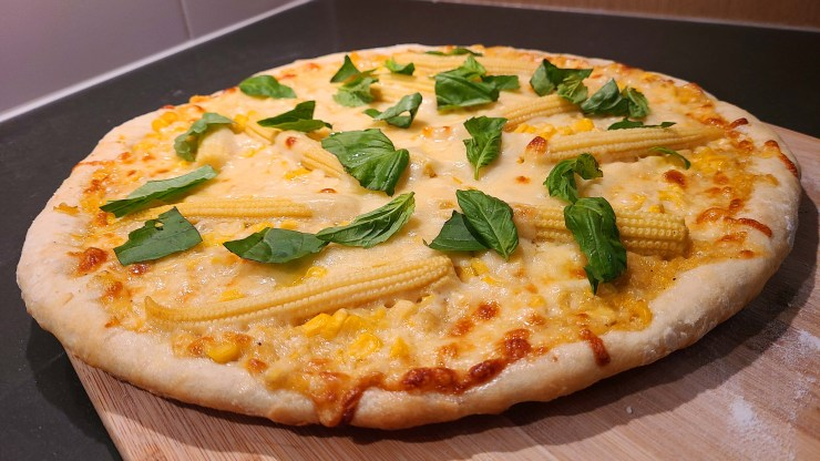 Corn Pizza Recipe