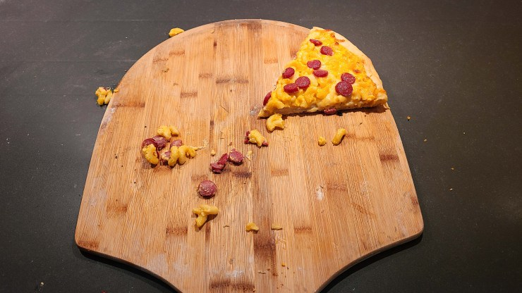 Hot Dog Macaroni and Cheese Pizza Recipe