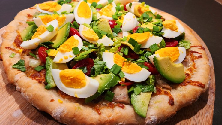 Cobb Salad Pizza Recipe