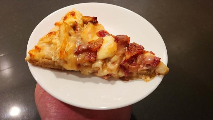 Bacon Poutine Pizza