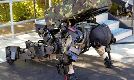 Raytheon XOS2 exoskeleton prepares for heavy lifting and a generally laborious life