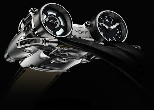 HM4 Thunderbolt watch FACE by MB&F