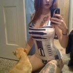 These ARE the Droids You're Looking For. Trust Me – The R2D2 Swimsuit