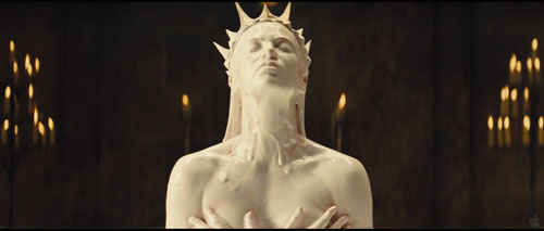 Charlize Theron... in Cream