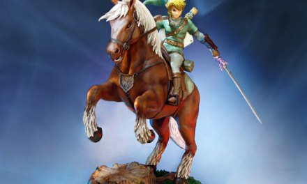 Legend of Zelda – Link and Epona Statue of Awesomeness