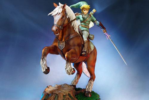 Zelda - Link on Epona Awesome Statue