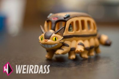 Catbus 3d puzzle from My Neighbor Totoro