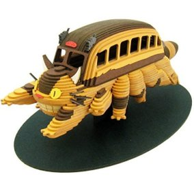 miniatuart kit studio ghibli my neighbor totoro catbus nekobus