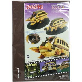 miniatuart kit studio ghibli my neighbor totoro catbus nekobus box