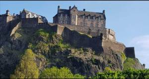 Edinburgh castle Hogwarts inspiration