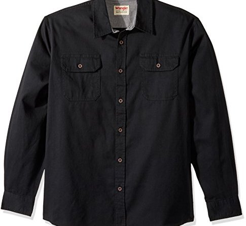 Wrangler Authentics Men's Authentics Long Sleeve Classic Woven Shirt