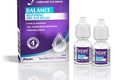 Systane Balance Lubricant Eye Drops, Restorative Formula, Twin pack, 0.33 Fluid Ounce