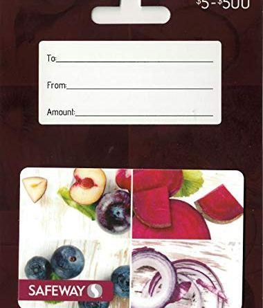 Safeway Gift Card