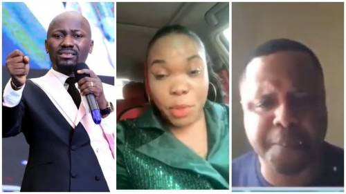 'Haven't You Destroyed Me Enough?' — Pastor's Wife Accused Of Sleeping With Apostle Suleman Attacks Husband