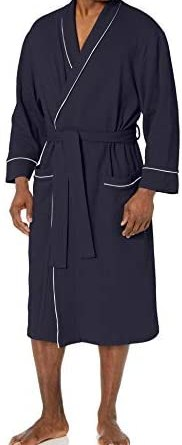 Amazon Essentials Men's Waffle Shawl Robe