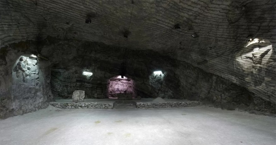 Salt Cathedral of Realmonte