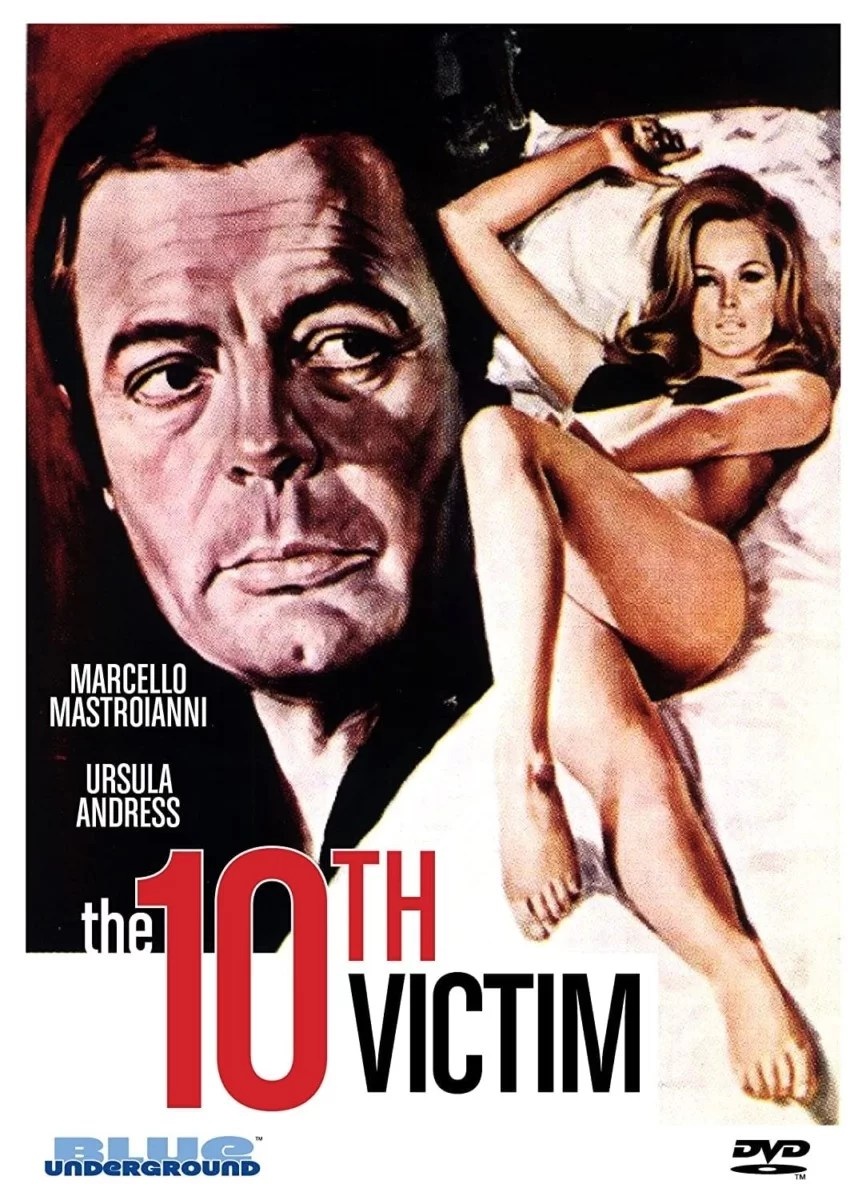 """Poster for the movie """"The 10th Victim"""""""