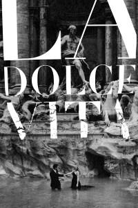 """Poster for the movie """"La Dolce Vita"""""""