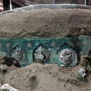 Roman Chariot discovered at Pompeii