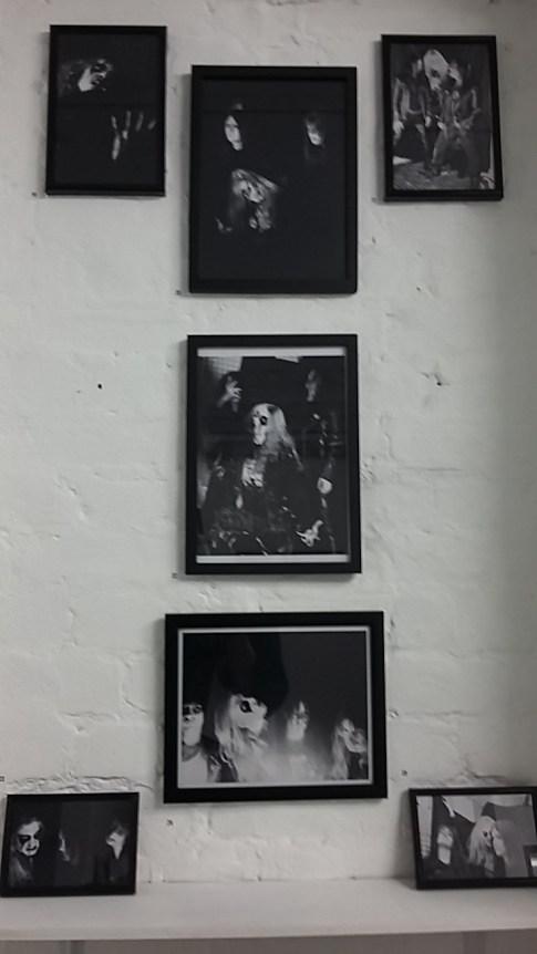 #23. Line-up in 1989: Jan Axel, Pelle, Øystein & Jorn, ; #24-25. Øystein, Pelle, photographed by Øyvind Ihlen [From 'The Death Archives']