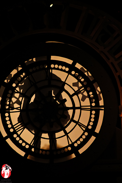 Time Travel occurs via the Clock Tower, of course!
