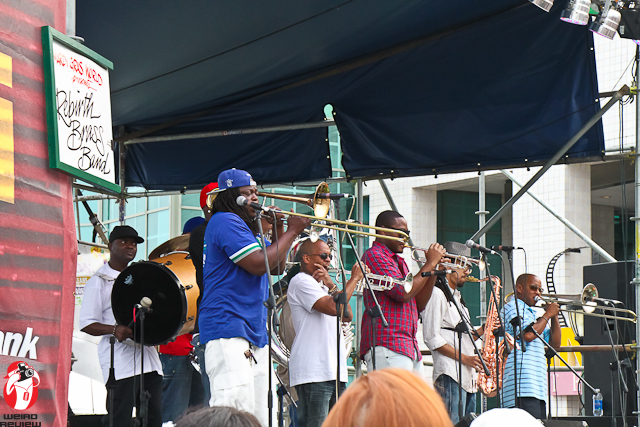 The Grammy Award Winning Rebirth Brass Band performing live at the French Quarter Fest