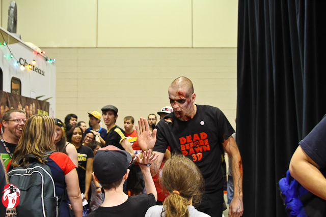 The Zemon Josh stalked the exhibition hall at the Toronto Fan Expo!