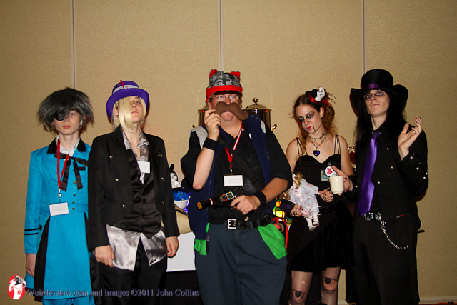 Part of the partiers from NMA 2011's tea party