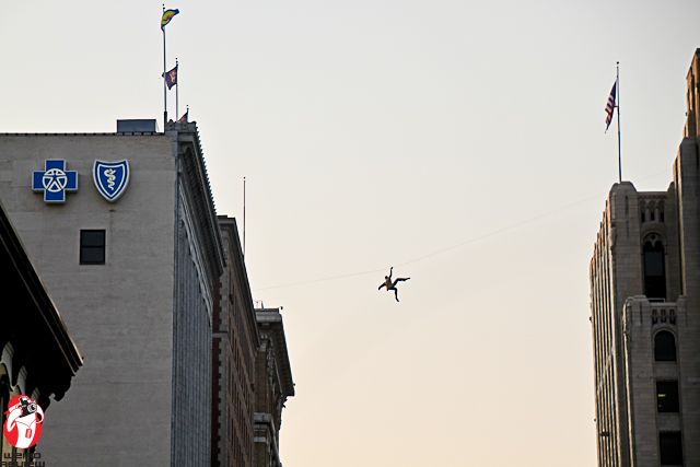 """""""Gravity Matters Little"""" can be seen from the """"S"""" curve as you drive through Grand Rapids, Michigan"""