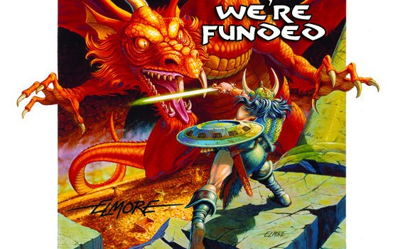 Larry Elmore's Kickstarter is over with an amazing ending
