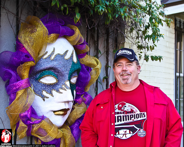 """Longtime New Orleans Mardi Gras attendee """"Big Daddy"""" Furst enjoys his first Mobile Mardi Gras"""