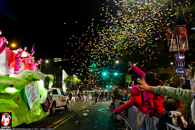 Mardi Gras fun hits the air and the streets