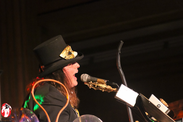 Jon Magnificent at Her Royal Majesty's Steampunk Symposium 2012