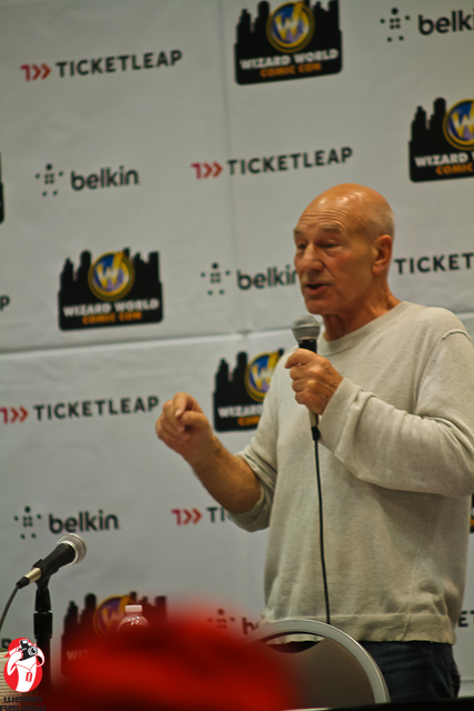 Patrick Stewart at the 2012 Wizard World Ohio Comic Convention