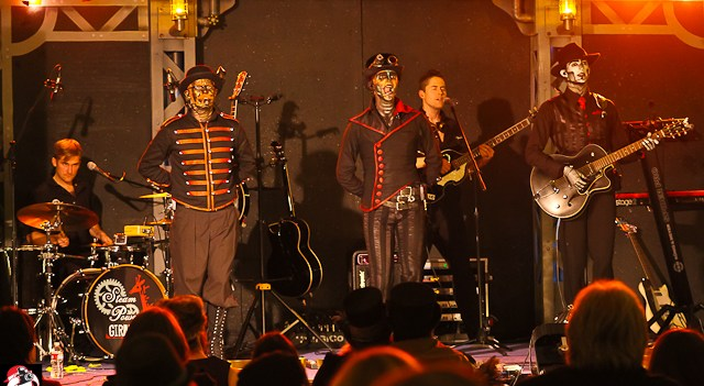 Steam Powered Giraffe at Her Royal Majesty's Steampunk Symposium 2013