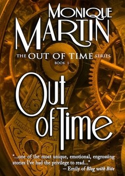 """The cover of Monique Martin's """"Out of Time"""""""