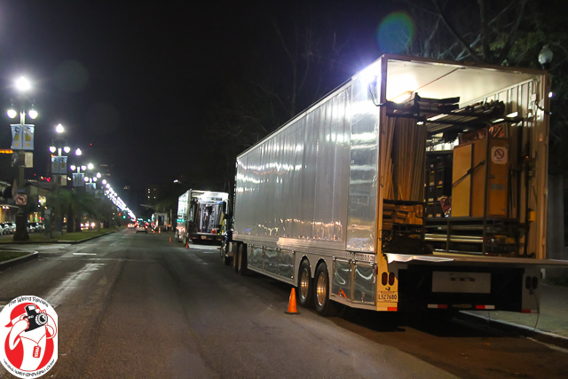 Hollywood Trucks on Rampart for the NCIS: New Orleans Pilot