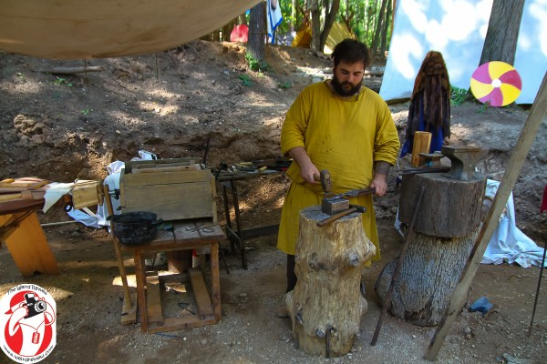 The Vikings of the Great Lakes Living History group