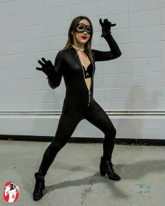 Estelle Lavoe as Cat Woman ties for third