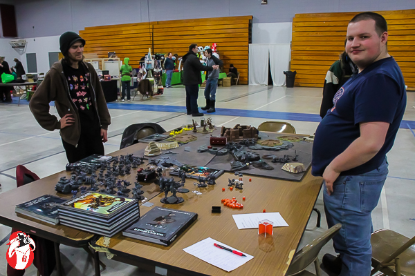 War Hammer 40,000 at the Cadillac Pop Culture Convention