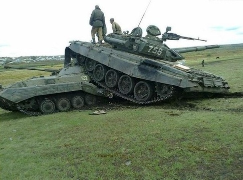 """This is what """"Oops"""" means in the Russian Army"""