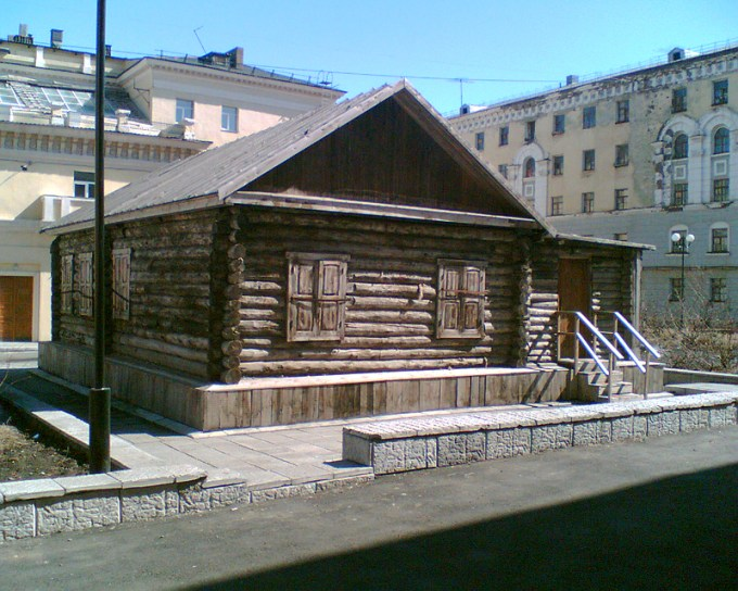 The first house built in Norilsk, in 1921